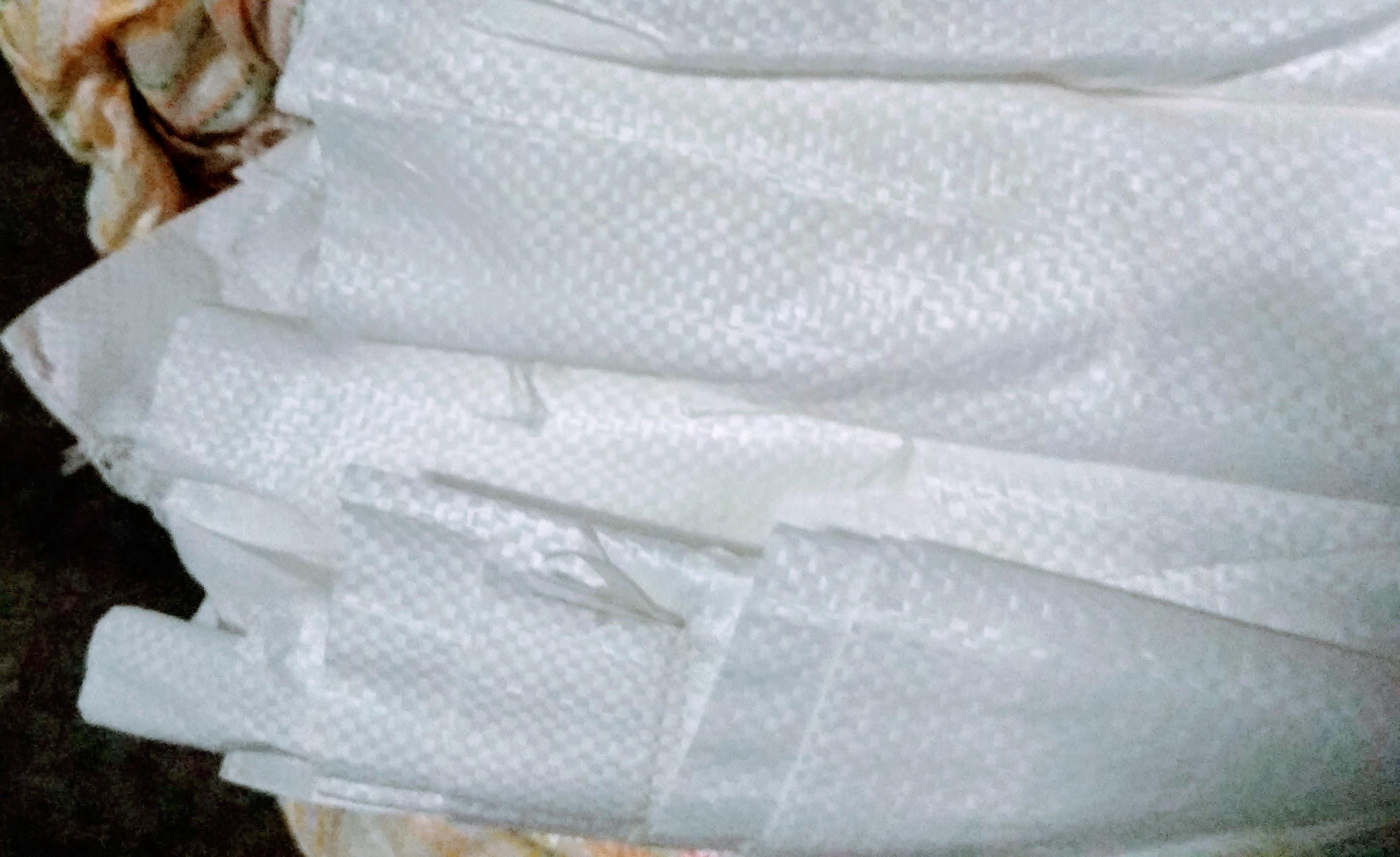 Мешки полипропиленовые 100 * 120 см. высший сорт (плотность 64 гр/m2), большие на 100 кг.  вес 150 гр