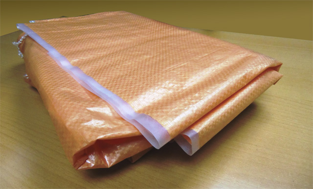 Мешки полипропиленовые большие на 100 кг., 100 х 150 см, 200 гр, ламинированные   (голубые/оранж/бел)