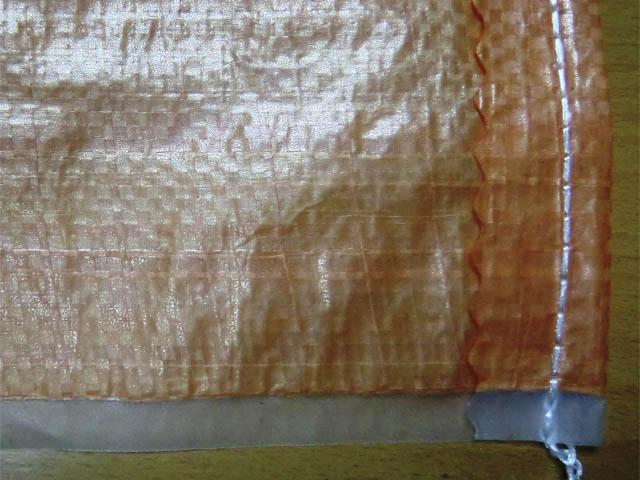 Мешки полипропиленовые большие на 70 кг., 80 х 120 см, 140 гр, ламинированные  (голубые/оранж/бел)
