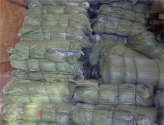 Зеленые мешки 55х95, строительные